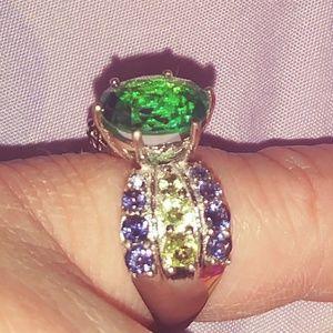 Beautiful Multi Gemstone Ring